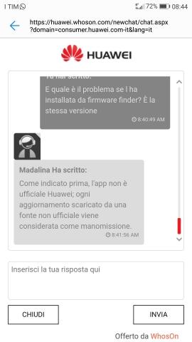 Huawei P10] - Notifiche Aggiornamenti Ufficiali (NO MODDING