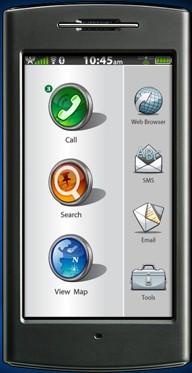 2009: Garmin rilascierà un cellulare basato su android