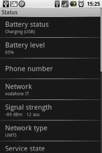 Il difetto più grande del G1 è la batteria