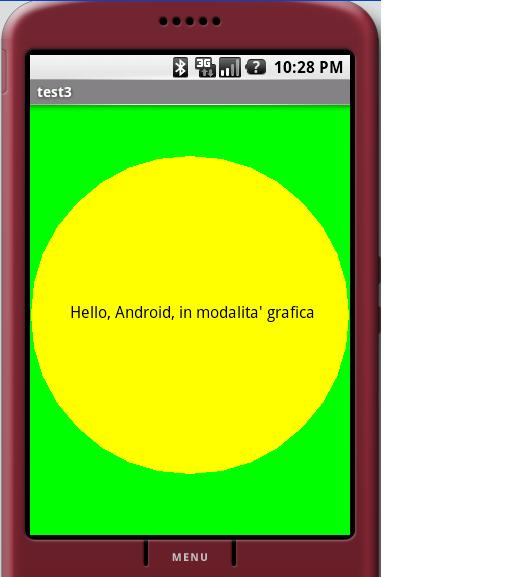 Programmare su Android in modalità grafica