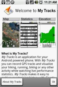 My Tracks. Google si allea con Twidroid per condividere i tuoi percorsi