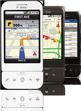 TeleNav: il Navigatore satellitare per Android in uscita il 24 Febbraio