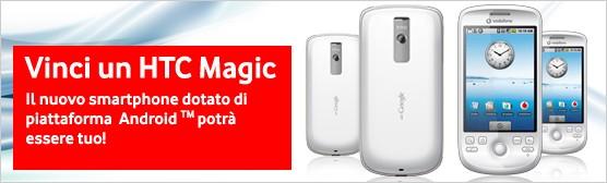 Htc Magic con Vodafone e Htc G1 con Tim