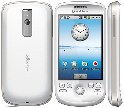 Ecco svelate le tariffe Vodafone per l'HTC G2 Magic