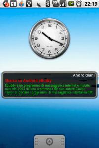 AndroidianiWidget Rss - Il primo widget Marchiato Androidiani