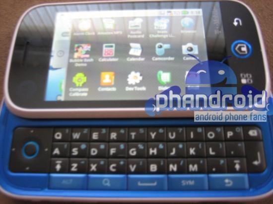 Motorola Morrison con Android, le prime foto