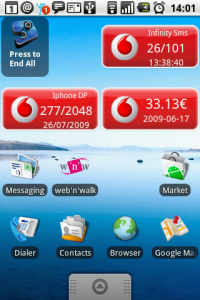 Vodafone Widget per Android