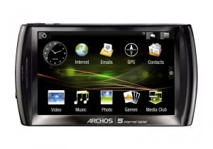 Video Prova dell Android Archos 5 Internet Tablet