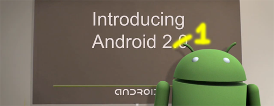 Android 2.1 già all'orizzonte?