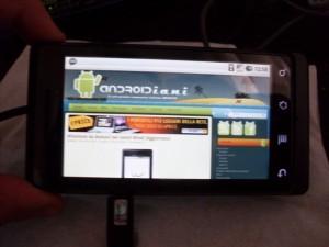 Motorola Milestone in casa e i primi problemi