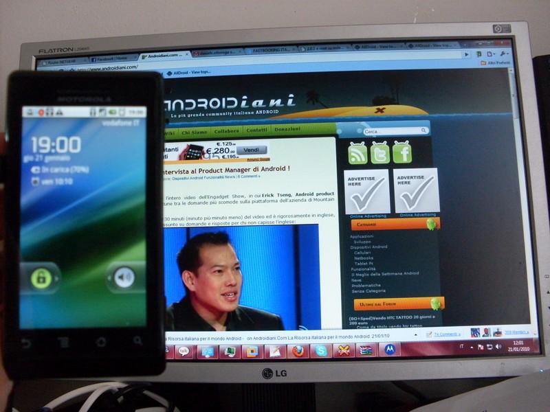 Motorola Milestone 2.0.1 e root :)