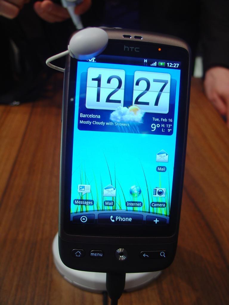 HTC Desire a 499€