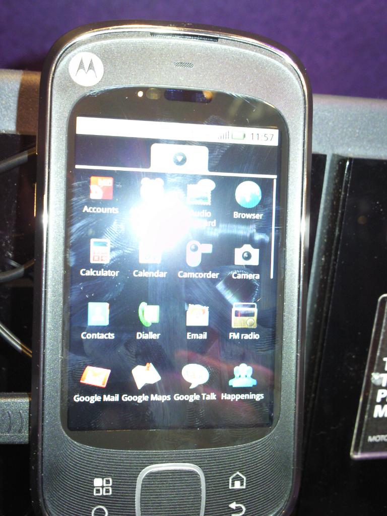 Motorola Quench: il primo android tablet di Motorola!