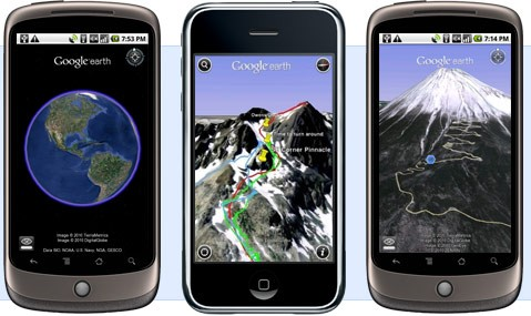 Disponibile Google Earth per Android 2.1 con Video!