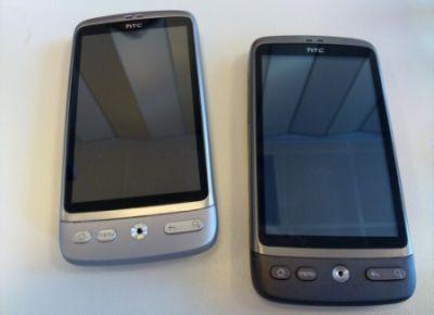 HTC Desire si veste d'argento