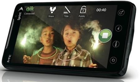 HTC EVO 4G monterà