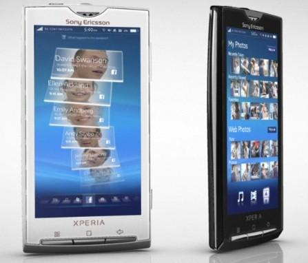 Sony Ericsson Xperia X10: avrà multitouch e Android 2.1?