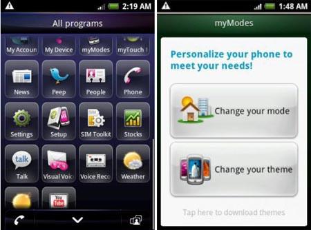 myTouch 3G Slide: video della nuova interfaccia Sense