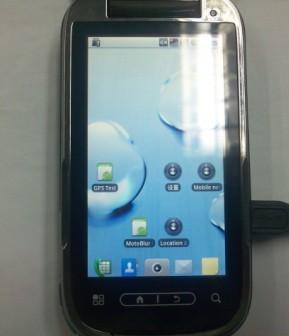 Nuovo smartphone Motorola con Android catturato in foto