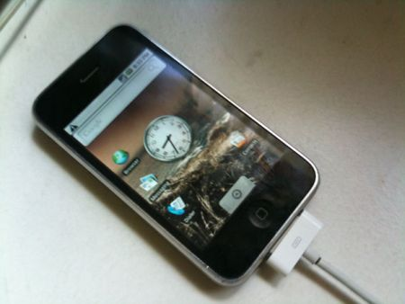 Android arriva anche su iPhone 3G [Video]