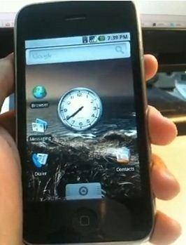 Android per iPhone 3G disponibile per il download