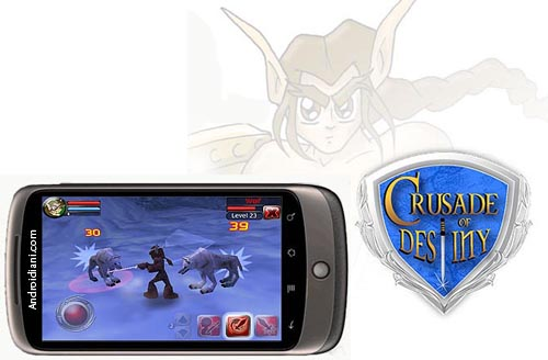 Crusade of Destiny: Action RPG in 3D per Android
