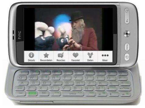 HTC Vision: un Desire con tastiera QWERTY?