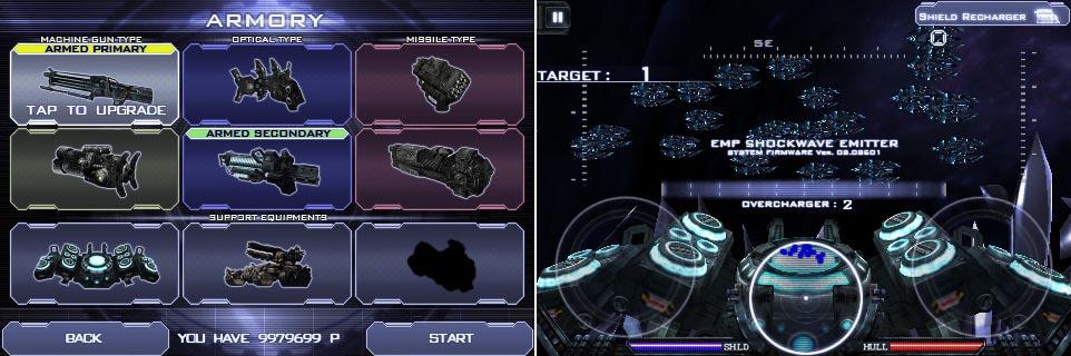 Heavy Gunner 3D: sparatutto intergalattico da Com2Us