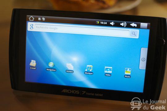 Archos 7 Home Tablet presentato - Specifiche tecniche e foto