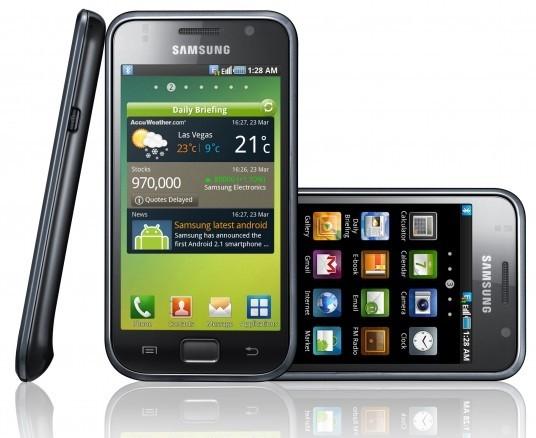 Samsung Galaxy S: comparazione software con HTC EVO 4G e schermo a confronto con Nokia N8