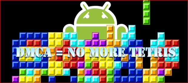 Android Market, Rimossi tutti i cloni di Tetris