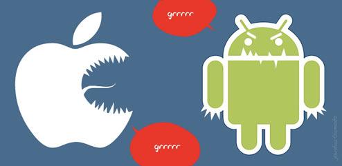 Apple risponde ai numeri di vendita di Android