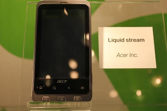 Acer Liquid Stream, alcuni dettagli sul nuovo terminale Acer