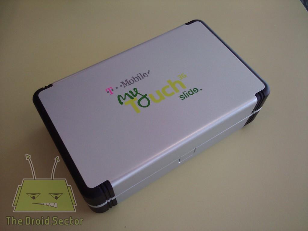 T-Mobile myTouch 3G Slide: foto unboxing