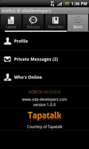 Rilasciato un aggiornamento per l'applicazione ufficiale di XDA