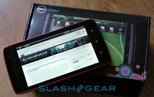 Dell Streak O2 - Video Unboxing