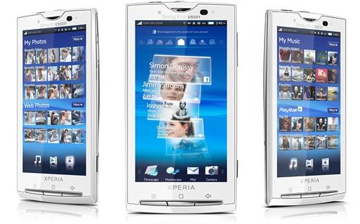 Sony Ericsson Xperia X10 riceve un aggiornamento firmware