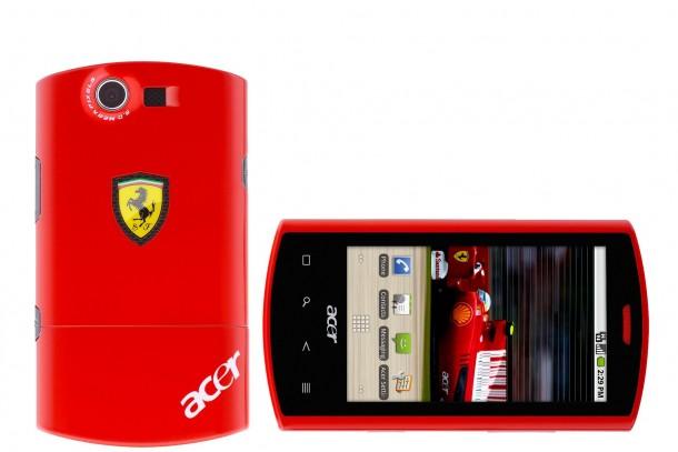 Acer Liquid E Ferrari special edition, l'esclusivo smartphone Android