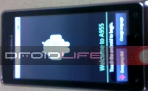 Motorola Droid 2 A955, prima immagine del terminale