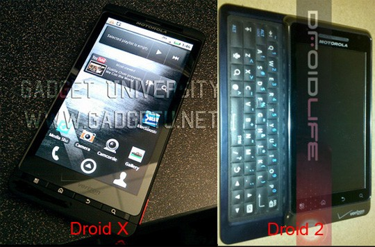 Motorola Droid X a Luglio, Droid 2 ad Agosto