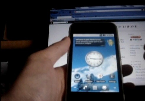 iPhone 3G, arriva anche Android 2.2 Froyo - Video