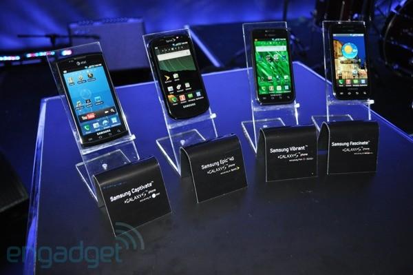 Samsung: tutte le versioni del Galaxy S avranno Android 2.2