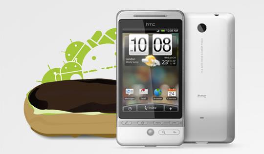 HTC Hero, a partire da oggi arriverà l'aggiornamento ad Eclair 2.1