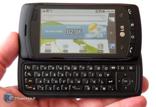 LG C710 Aloha, prime informazioni sulla versione GSM dell'LG Ally