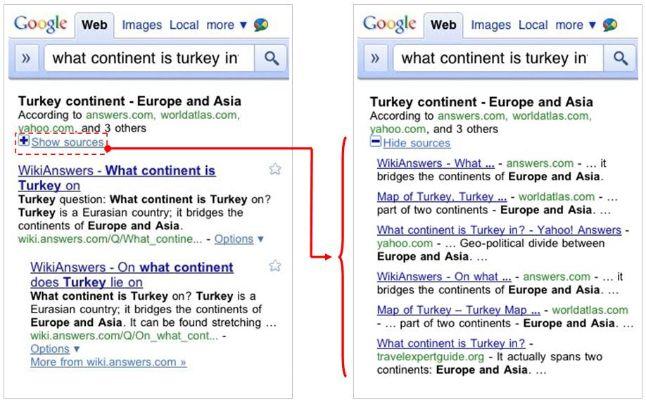 Google, Voi domandate e lui risponde