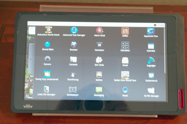 Viliv X10, tablet Android da 10 pollici al Computex