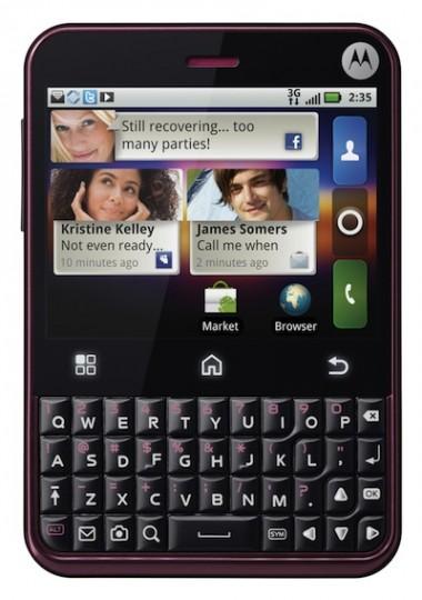 Motorola Charm annunciato, in esclusiva con T-Mobile USA