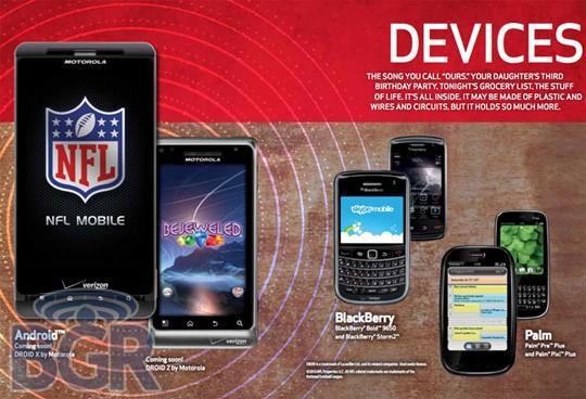 Motorola Droid 2 fa la sua apparizione nel catalogo estivo Verizon