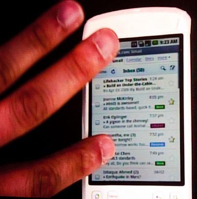 Gmail per Android si aggiorna, ma solo per Froyo