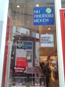 pubblicità Android estero